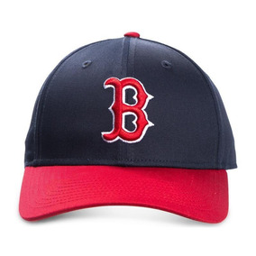 Mlb Gorra De Béisbol Boston Red Sox Ajustable Azul Y Rojo 3b06e37750e