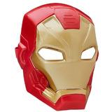 Máscara Eletrônica Homem De Ferro Fx - Capitão América Guerr