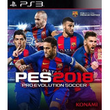 Pes 18 Ps3 Digital | Pro Evolution Soccer 2018 | Tenelo Ya