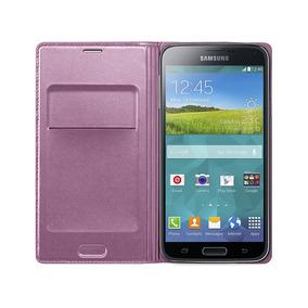 Capa Protetora Samsung Flip Wallet Para Galaxy S5 Pink