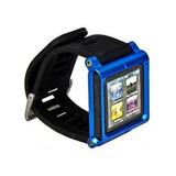 Brazalete Reloj Ipod Nano 6ta + 2 Protectores De Pantalla