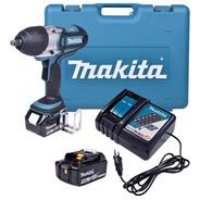 Chave De Impacto 1/2 A Bateria 18v Makita Dtw450rfe