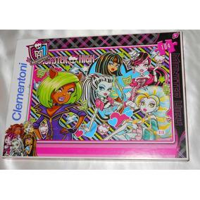 Rompecabezas Monster High Clementoni 104 Piezas Con Envio