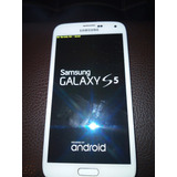 Samsung Galaxy S5 G900p Como Nuevo Color Blanco140 Trump