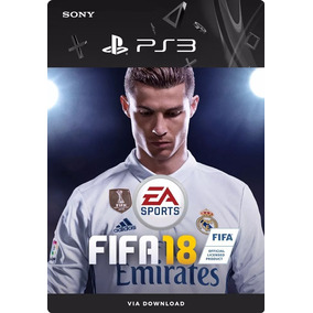 Fifa18 Psn Portugues Playstation 3 Jogo Completo Digital