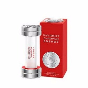Perfume Davidoff Champion Energy Masc Edt 50ml - Leilão