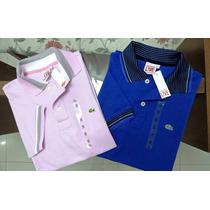 Kit 30 Camisas Polo Importadas Peruanas Lacoste