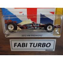 Hot Wheels Formula Indy Dw-1 Dan Wheldon - Pneus De Borracha
