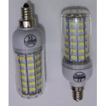 Lampada Led 64 Smd 5730 Branco E12 8w 110v 1 Unidade