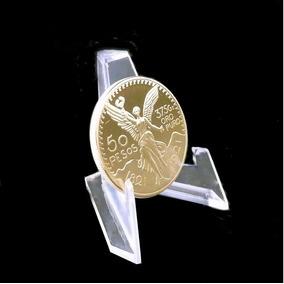 Pedestales Exhibidor Monedas Oro Plata Precio X 10 Piezas