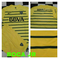 Uniforme De Fútbol Playera Y Short Boca Juniors Amarillo