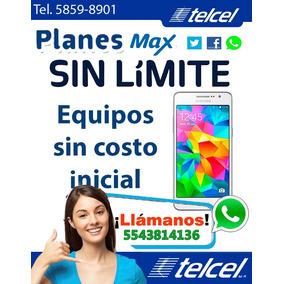 Planes Telcel Max Sin Límite Promociones Y Equipos 1-2-3-4-5