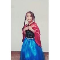 Disfraz Vestido Princesa Anna (frozen)