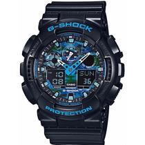 Relógio Casio G-shock Ga-100cb-1adr - Garantia Casio Brasil