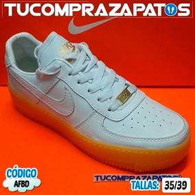 Zapatos Nike Air Force One Botas Para Damas Y Caballeros
