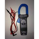 Alicate Amperímetro Minipa Et-3702. 1000 Amperes.