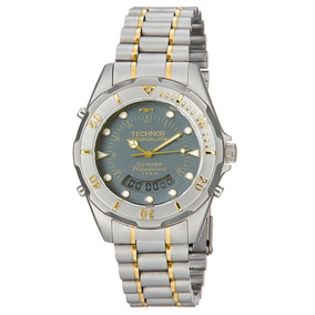 Relógio Technos Masculino Anadigi Skydiver T20557/8c 45% Off