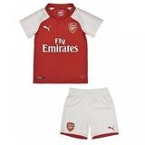 Camisa + Short Arsenal Oficial Infantil 18/19 - Mega Oferta!