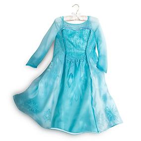 Disfraz Vestido Elsa Frozen Disney Store Original