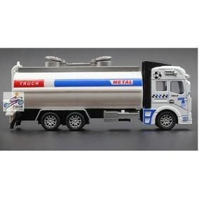 Caminhão Tanque De Combustível Brinquedo Miniatura