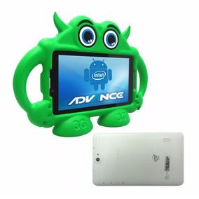 Tablet 7 3g Dual Sim Advance Intro Tr4885 + Gratis Mochila