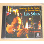 Luis Saltos Armonica En La Noche De Bs.as Cd Nuevo Sellado