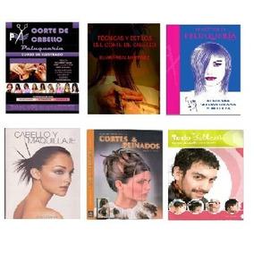 Libros Pdf Peluqueria, Corte De Cabello, Estilismo Pack