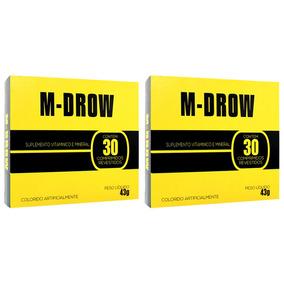 Kit Com 2 M-drow - 30 Comprimidos Revestidos - Intlab