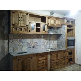 Muebles De Cocina Estilo Campo Madera - Muebles de Cocina en Mercado ...