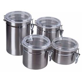 Potes De Cocina Prim En Acero Inoxidable De 4 Piezas