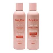 Kit Shampoo + Condicionador Argila Rosa Ruby Rose