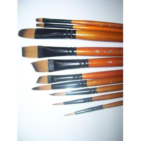 Set X 10 Pinceles Profesionales 1°marca Artistica /liniers
