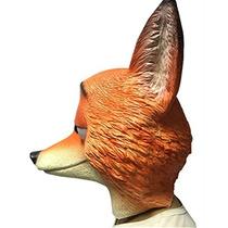 Zootopia Fox Naturaleza Látex Completo Máscara De Halloween