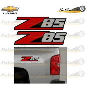 Sticker Calcomania Z85 Chevrolet Pick Up Silverado Colorado