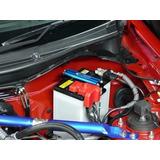 Sujetador De Bateria Universal Tuning Para Auto Rojo ,azul