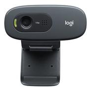 Camara Web Logitech C270 Webcam 720p Windows Macos Android
