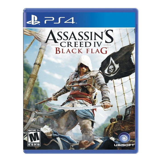 Assassin's Creed 4 Iv Black Flag Ps4 Cd Fisico Sellado Full