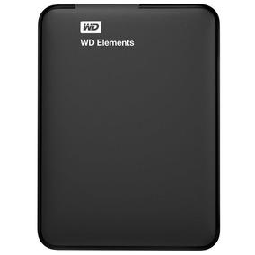 Disco Duro Portatil Externo Wd Elements 1tb Usb 2.0/3.0