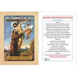 Santinho De São Francisco De Assis (milheiro Oração)