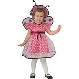 Disfraz Para Niña Pink Lady Bug Del Traje De La Niña De Rub 4daa92f49c3