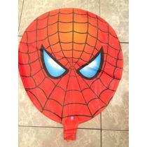 Globo De Cabeza De Spiderman Decoracion Para Cumpleaños