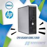 Cpu Usado Dell, Hp, Core 2 Duo, 2gb En Ram, 160 Gb