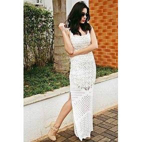 Vestido branco longo handara