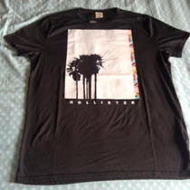 Roupa Da Hollister Camiseta Original Masculina Da Hollister