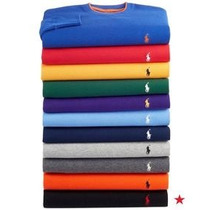 Kit 5 Camiseta Ralph Lauren Lacoste Sergiok Slim Barato Liso