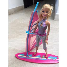 Barbie Y Tabla De Wingsurf