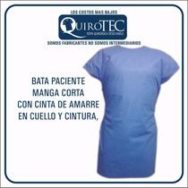 Bata Quirúrgica Paciente Sin Mangas Desechable Paquete 10 Pz