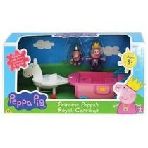 Peppa Pig Muñecos Carruaje Real Princesa Sir George Original
