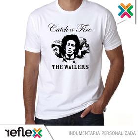 Remera Bob Marley 100% Algodón Calidad Premium