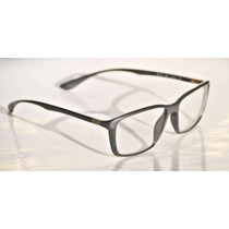 Lentes Armazon Ray Ban Liteforce Rb7018 Gris Metalico